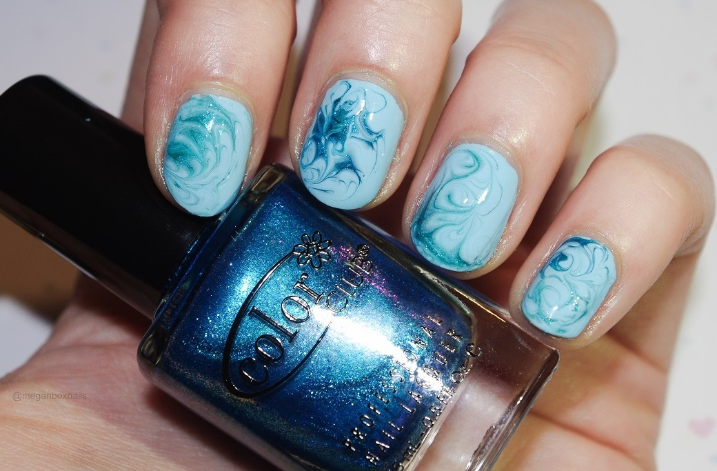 Dry water marble - Nail Lacquer UK