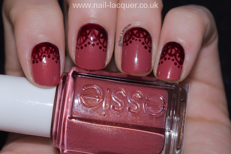 20090101-essie-all-tied-up-swatch-with-lace-pattern (1)