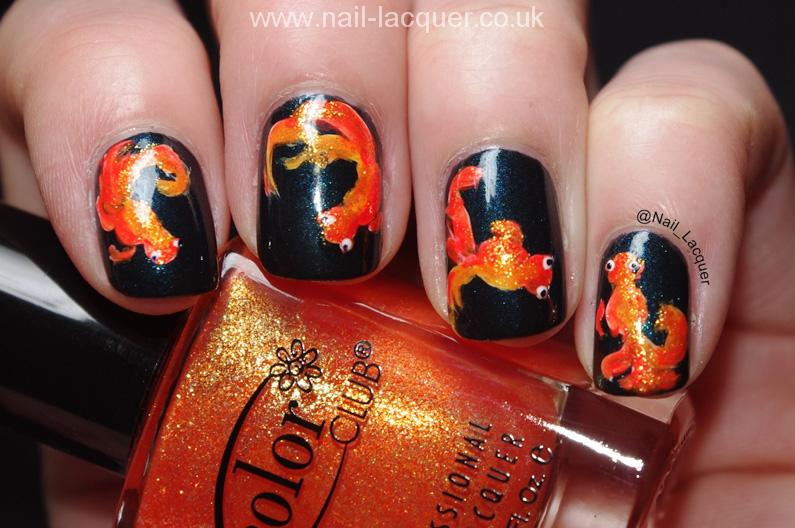 20090101-goldfish nail art (3)