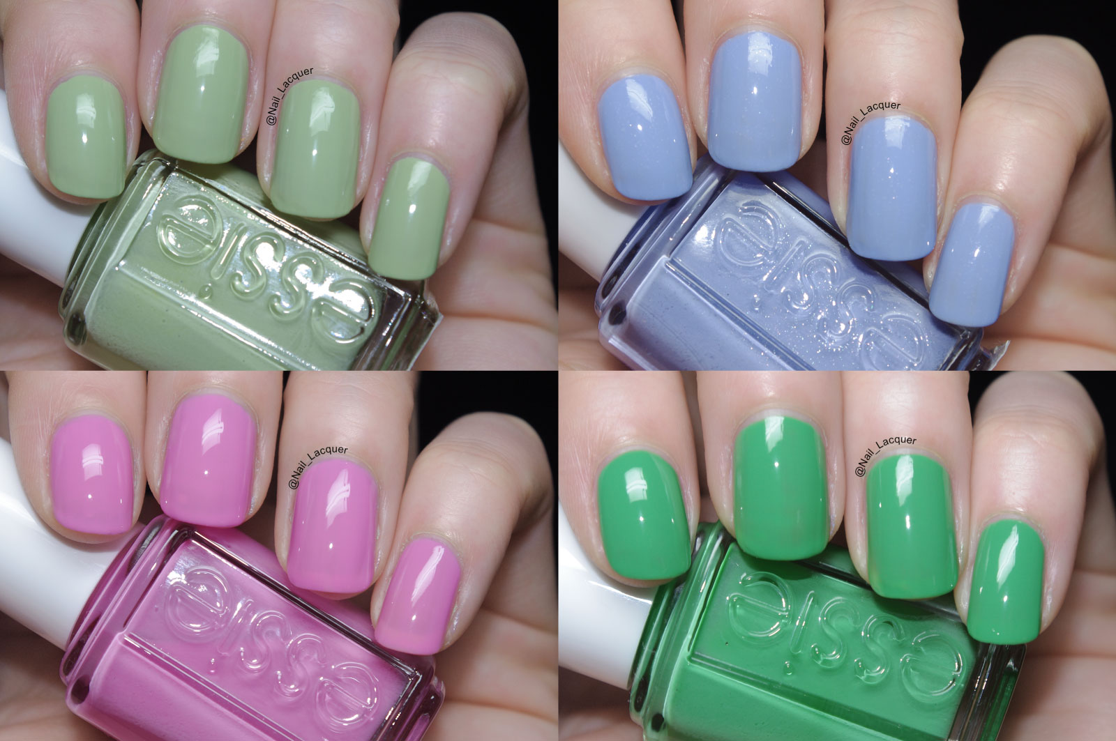 My favorite Essie nail polish swatches - Nail Lacquer UK