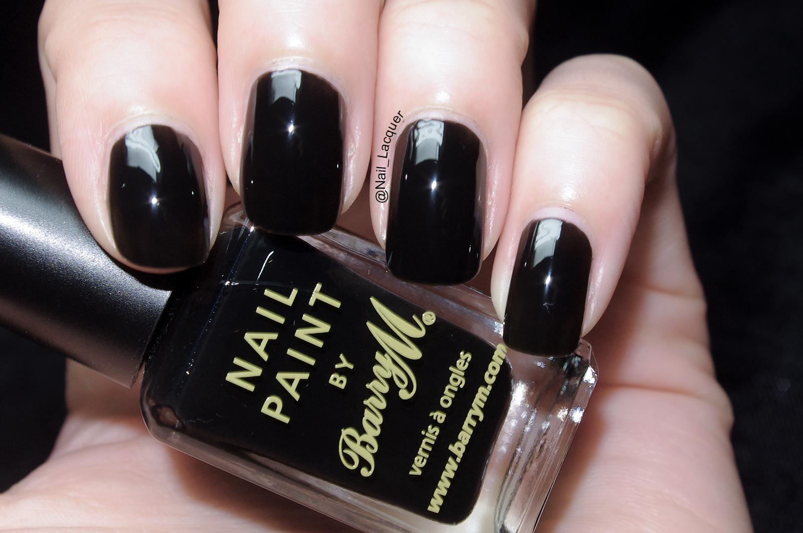 Nail Art Black Polish ~ Nail art design pics