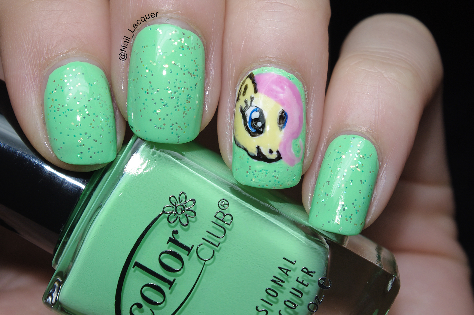 My little pony nail art nail lacquer uk my little pony nails 2 prinsesfo Gallery
