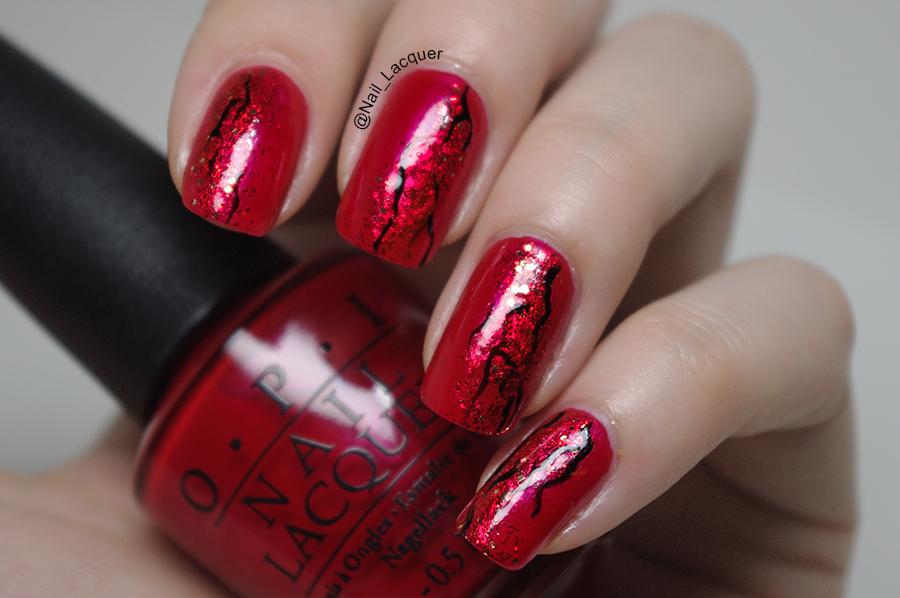 Red nail art nail lacquer uk red nail art 2 prinsesfo Choice Image