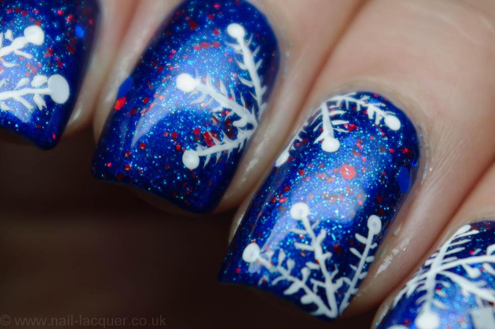 Snowflake Nail Art 10 Nail Lacquer Uk