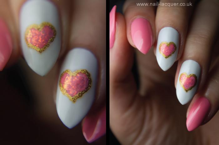 Easy nail art we heart it :