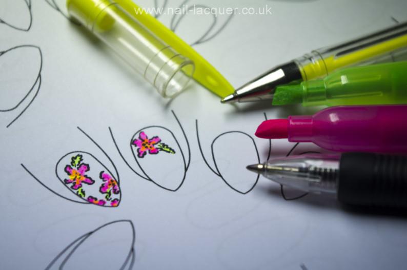 Nail Art Template - Nail Lacquer UKNail Lacquer UK