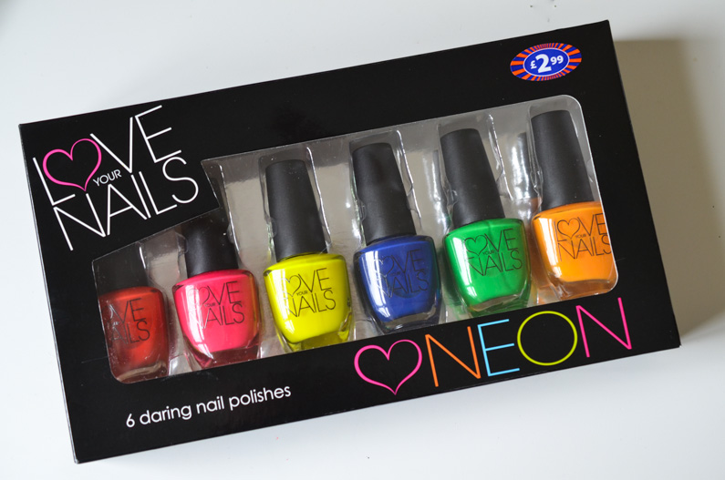 Love your nails neons from B&M - Nail Lacquer UK