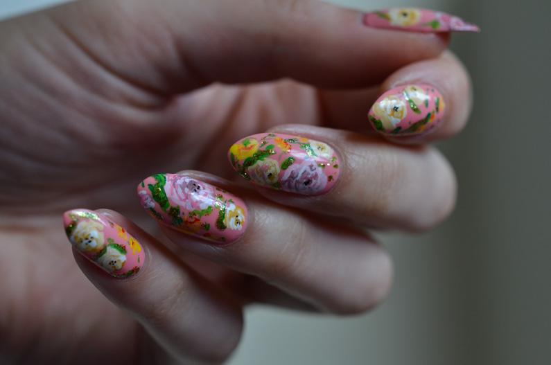 Pink-rose-nail-art (5)