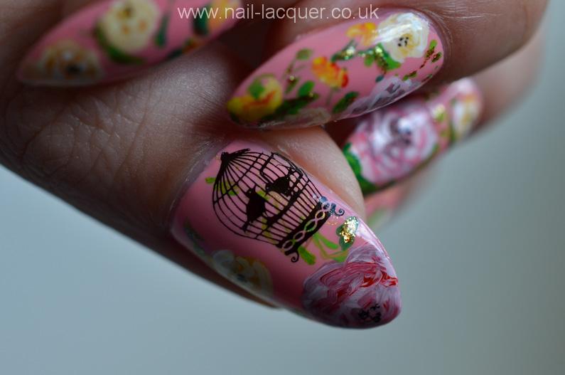 Pink-rose-nail-art (7)