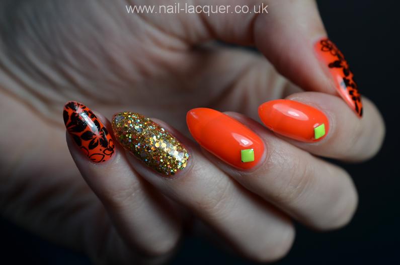 neon-orange-nails (2)