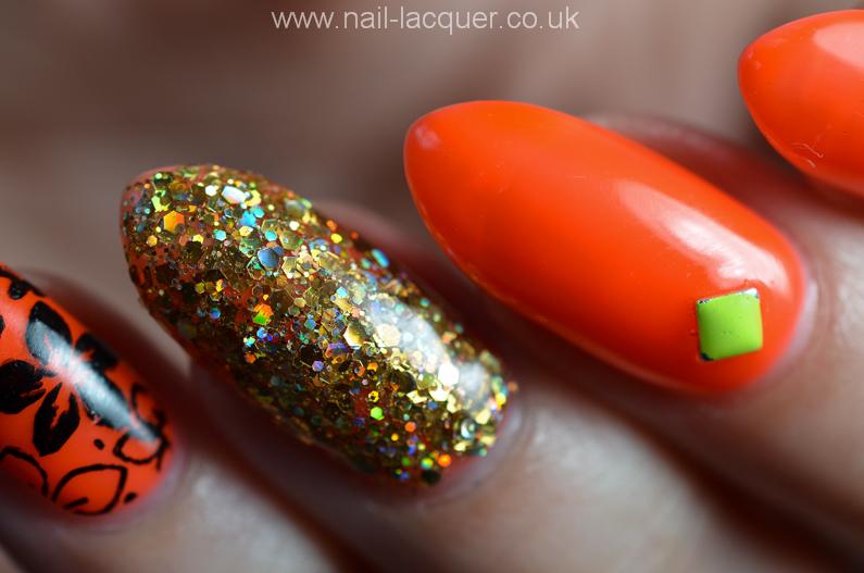 neon-orange-nails (3)