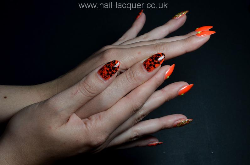 neon-orange-nails (6)