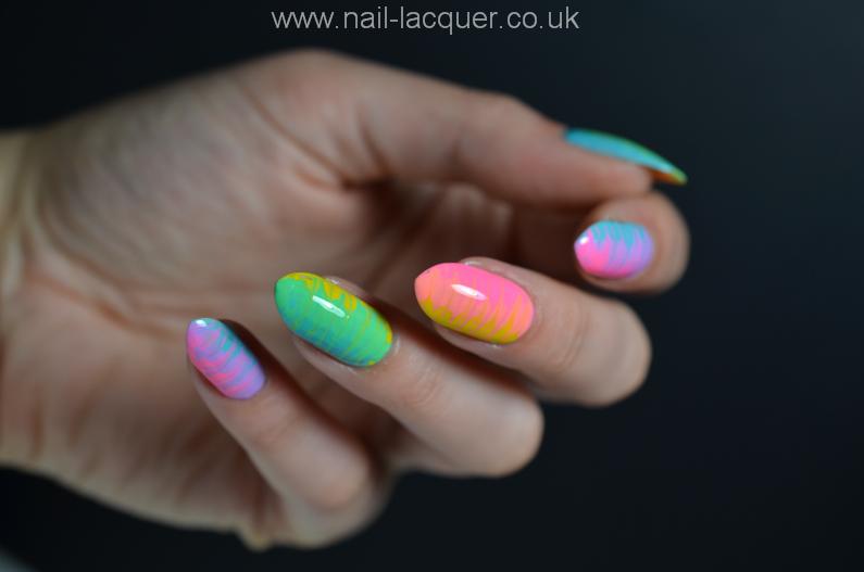 place rainbow nail city