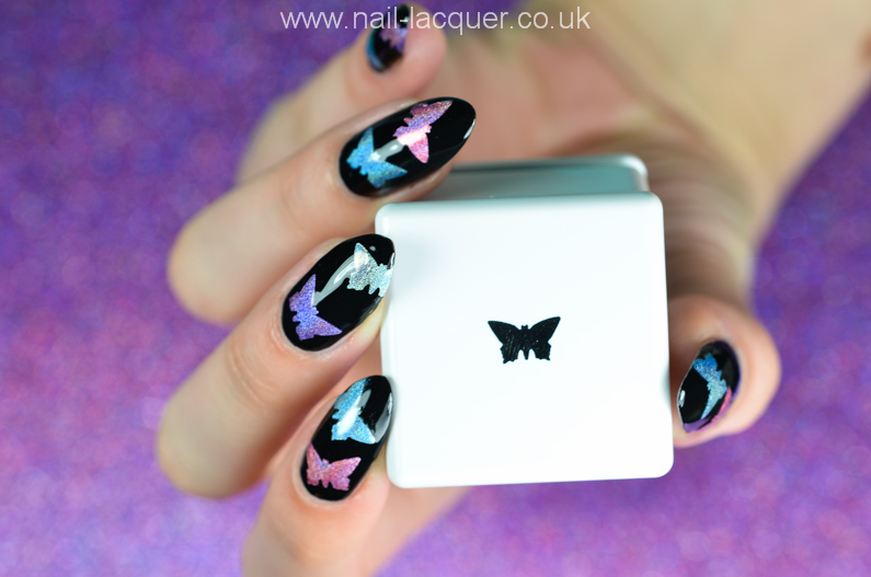 Holographic-butterfly-nail-decals-tutorial (7)