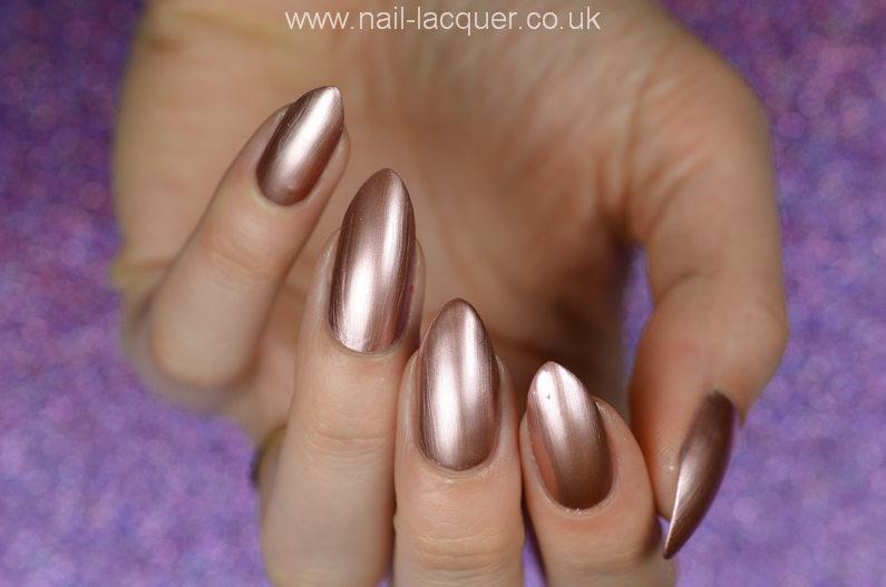 Models Own Colour Chrome Swatches And Review