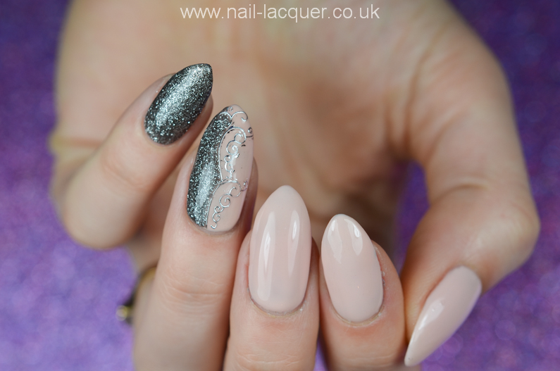 NailFX-gel-polish-in-nude-and-gun-metal (4)