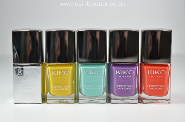 KIKO Perfect Gel swatches and review - Nail Lacquer UK
