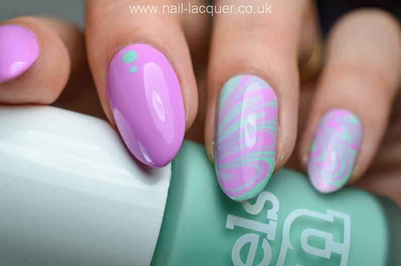 Water Marble Nail Art Nail Lacquer Uk