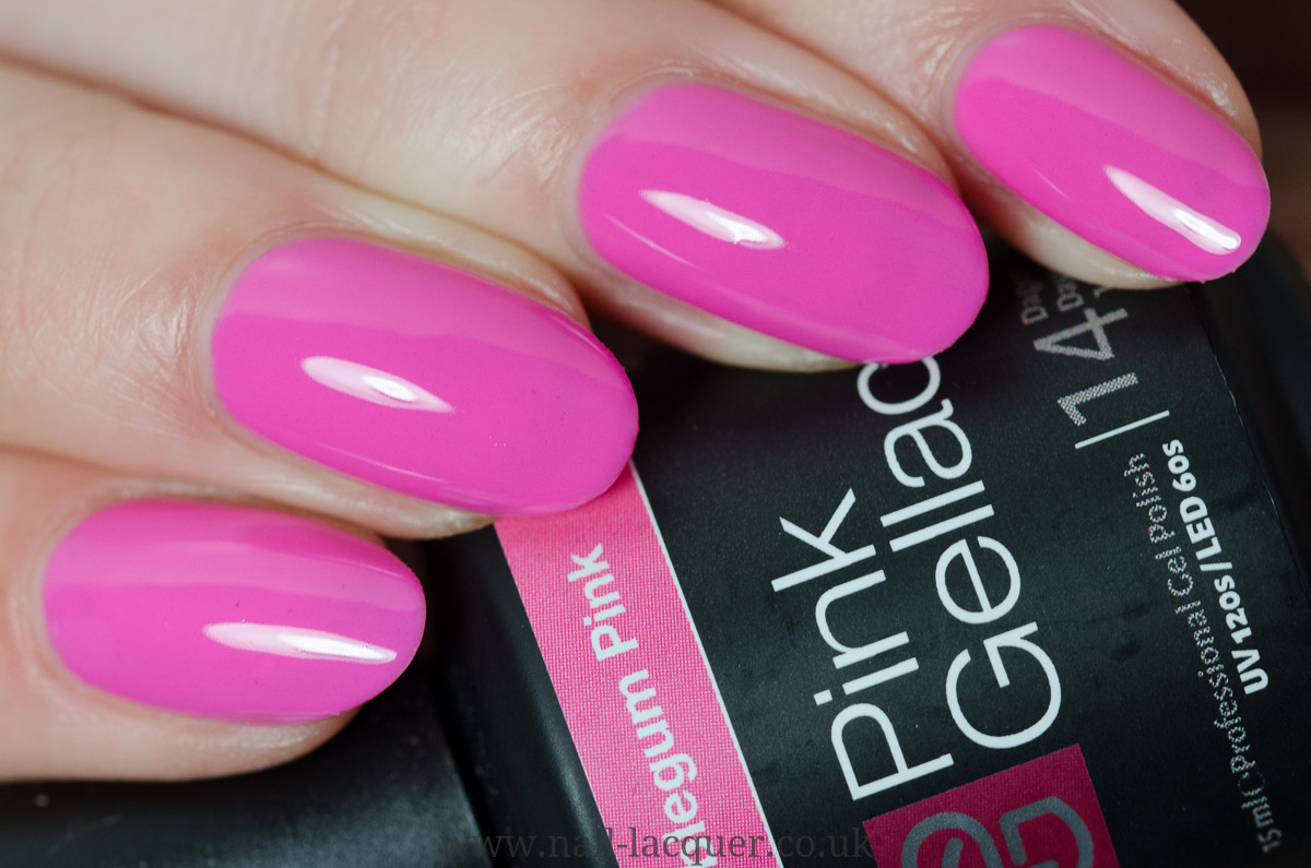 Pink Gellac Candy Couture Collection - Nail Lacquer UK