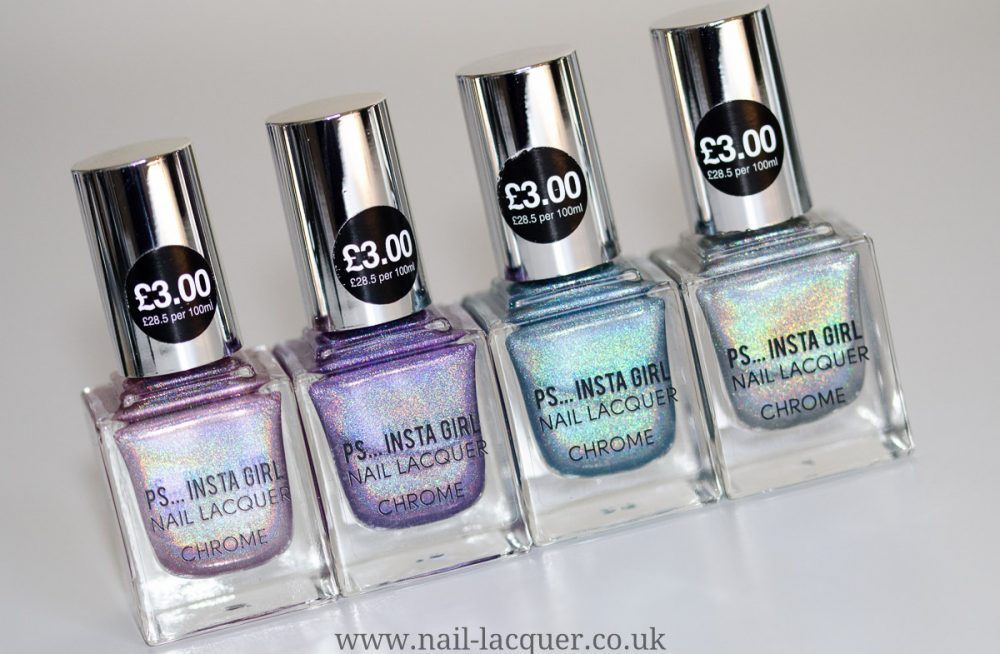 Primark PS… Insta Girl Chrome Collection - Nail Lacquer UK