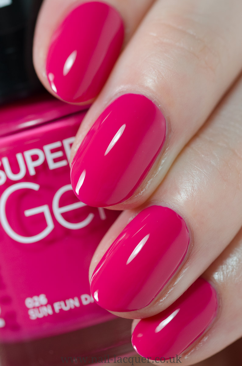 Rimmel Super Gel Nail Polish Nail Lacquer Uk
