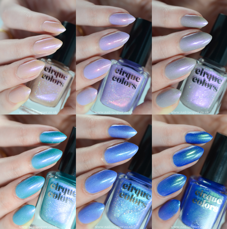 Cirque Colors Dreamscape Collection Review And Swatches By